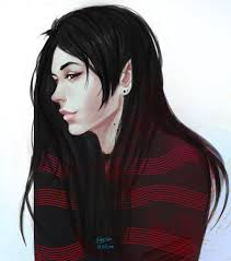 at marceline by guppyblue on deviantart adventure time