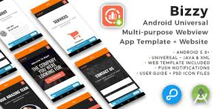 app android bizzy android multi purpose webview app website by cubycode