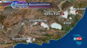 South Africa On Map by Major Winter Cold Front To Hit South Africa