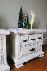 winter whites and farmhouse style pair of nightstands u2014 a simpler