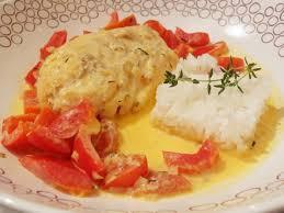 cuisiner le cabillaud cabillaud aux tomates cerises et poivrons rouges recette de
