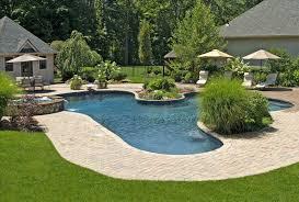 backyard with pool pool landscaping ideas design u backyards cozy