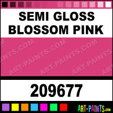 semi gloss blossom pink spray enamel paints 209677 semi gloss