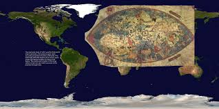 Map Of The Western Hemisphere Maps Through History Dataset Science On A Sphere