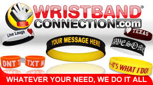 rubber bracelet made images Awareness wristband colors to promote any cause events order jpg