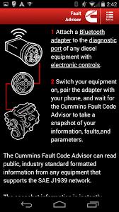 dodge cummins engine codes cummins fault code advisor android apps on play