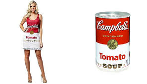 Sexy Halloween Meme - cbell s tomato soup top five sexy halloween costumes for women