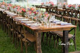 table and chair rentals in md reclaimed barnwood farm tables something vintage rentals
