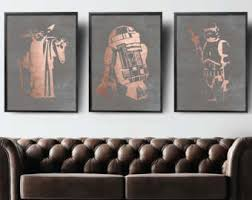 Star Wars Kids Rooms by Star Wars Room Decor Etsy