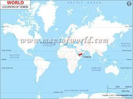 where is yemen on the map where is yemen location of yemen