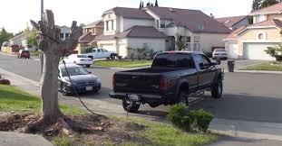 dodge cummins jokes cummins diesel vs tree 4 4 dodge slt truck pull america
