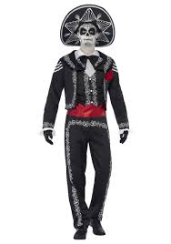 day of the dead costumes day of the dead senor bones costume