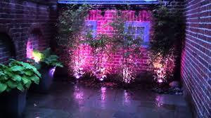 fts multi colour changing garden u0026 pond spotlights youtube