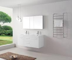 virtu usa jd 50154 gw 54 inch midori double sink bathroom vanity