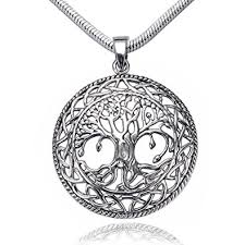 knot pendant necklace images 925 sterling silver tree of life celtic knot pendant jpg