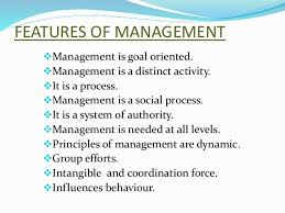 nature and significance of management