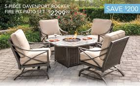 Patio Set With Firepit Table by You U0027re Invited To Shop Early Rc Willey Furniture Store