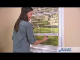 Levolor Cordless Blinds Troubleshooting How To Install Levolor Cordless Blinds Youtube