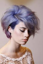 colored short hairstyles fade haircut