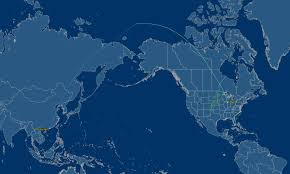 Map To Chicago by United Airlines 777 200 Businessfirst Hong Kong To Chicago