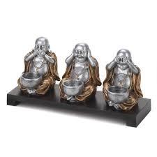 Buddha Statues Home Decor Wholesale Speak No Evil Hear No Evil See No Evil Buddha