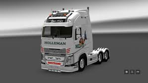 2013 volvo truck volvo fh 2013 by ohaha holleman skin mod euro truck simulator 2 mods