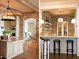 Kitchen Wall Design Ideas Collection In Brick Wall In Kitchen And 47 Best Kitchen Design