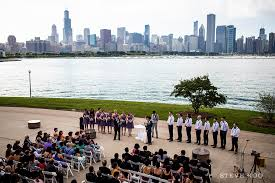 outdoor wedding venues chicago adler planetarium chicago wedding venue