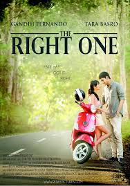 poster film romantis indonesia catatan nonton review the right one 2014