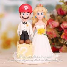 mario cake topper mario and princess wedding cake topper mario cake