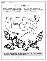 monarch migration 3rd grade lesson plan lesson planet