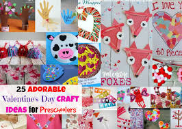 25 adorable valentine u0027s day craft ideas for preschoolers mama cheaps
