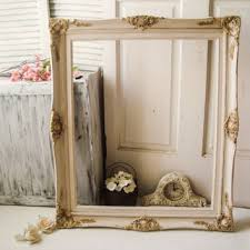 antique white and gold large ornate open from willowsendcottage
