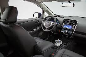 nissan leaf 2017 interior 2017 nissan leaf hatchback vehie