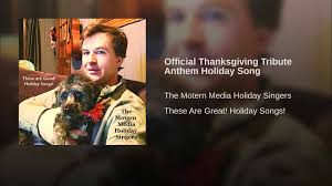 official thanksgiving tribute anthem song