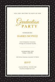 free graduation invitations 16 graduation invitation templates invitation templates free
