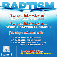 baptismal stonehill seventh day adventist church
