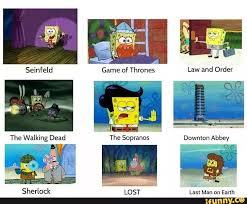 Lost Memes Tv - tv show comparisons spongebob comparison charts know your meme