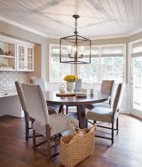 light fixture dining room beach with open floor plan farmhouse table