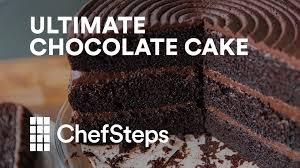 ultimate chocolate cake youtube