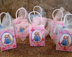 princess candy bags princess party favor etsy