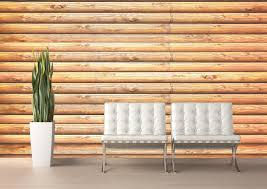 log cabin pine wall mural turn any space into a rustic lodge with this highly realistic log cabin wall mural installs instantly without paste or tools