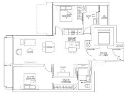 Residence Floor Plans Marina One Singapore By M S Marina One Singapore Floorplan