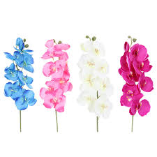 silk flower fashion orchid artificial flowers diy artificial butterfly orchid