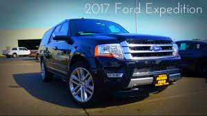 2017 ford expedition platinum 2017 ford expedition el platinum 3 5 l twin turbo v6 review youtube