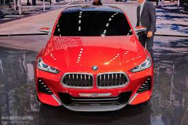 bmw concept x2 previews 2017 bmw f39 x2 autoevolution