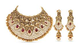 gold bridal set 54 gold bridal necklace sets 22k meenakari patta set bridal
