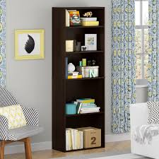 sauder 4 shelf bookcase good to go 5 shelf bookcase cherry