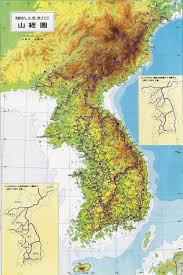 Physical Map Of East Asia by Maps Of South Korea Detailed Map Of South Korea In English