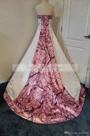 strapless wedding dresses designer pink camo wedding dresses real